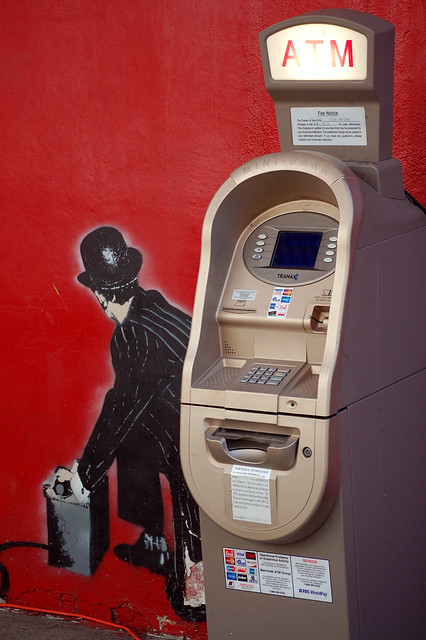 Blow up ATM
