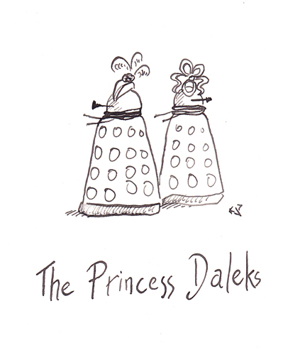 The Princess Daleks