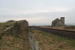 Huntcliffe Mine Unloading Ramp and Fanhouse