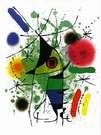 Joan Miró. The singing fish. 1488.