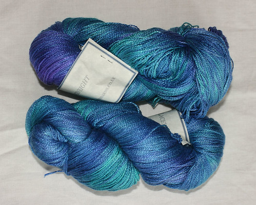 Laceweight silk