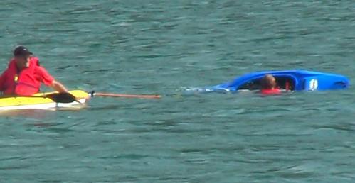 Morgen swimming