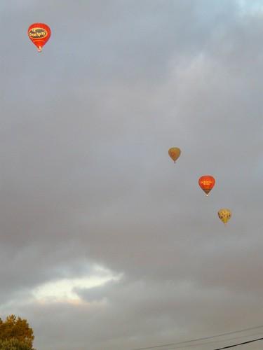 balloon morning surprise