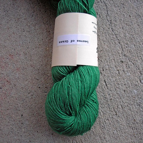Tsock Holiday Yarn Leaves of Grass (2)