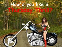 Thursday thrill?