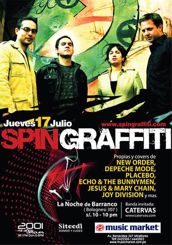 Afiche Spin Grafiti