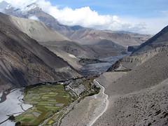 El valle del Kali Gandaki Nadi