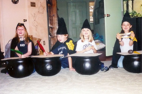 harry potter party students 01