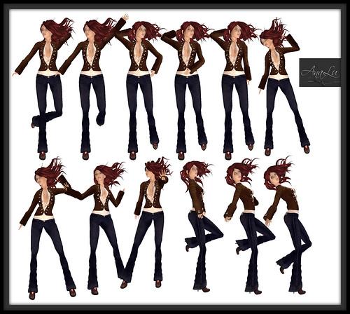 -AnaLu- *fresh poses* (49-60)