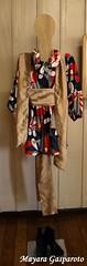 Quimono estilizado com obi (cinto)