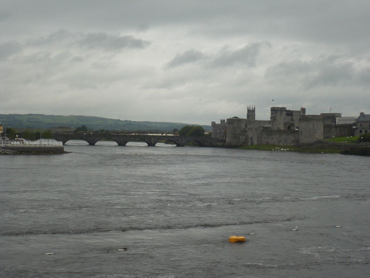 el castillo de Limerick