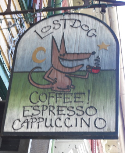 Lost Dog Coffee Shop by ohmeaghan.