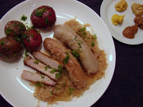 Dinner:  January 1, 2009