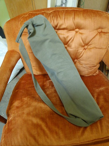 Old Pants to Yoga Mat Bag
