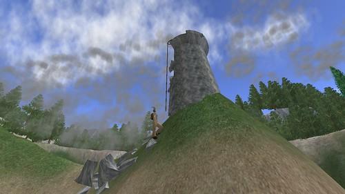 Climbing Rodeo Tower 1