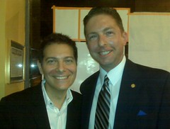 JMT and Michael Feinstein