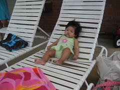 sunbathing cutie!
