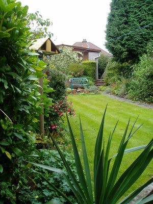 Mum and Dads garden. nice, isnt it?