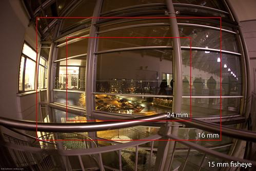 Wide angle test