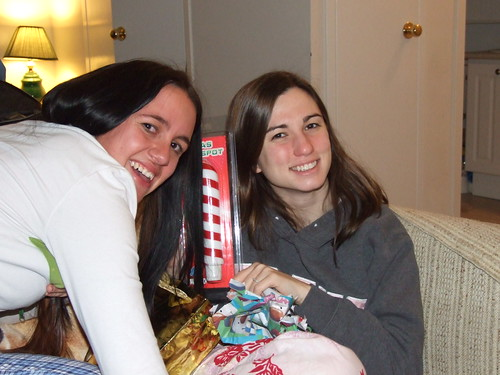 Steph And I Model With My Xmas Gift