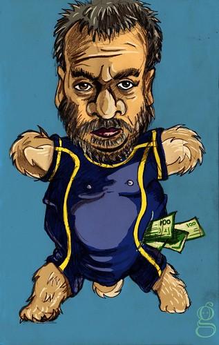 Bessonours  (Luc Besson Caricature)