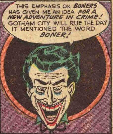 Joker's Comedy Of Errors
