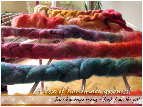 Handdyed goodness!