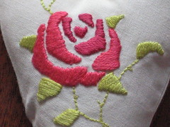 Tilda Heart Embroidery