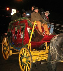 Stagecoach in Boulder parade