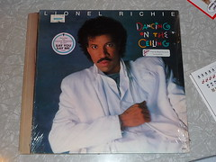 Lionel Richie Dancing on the Ceiling LP back