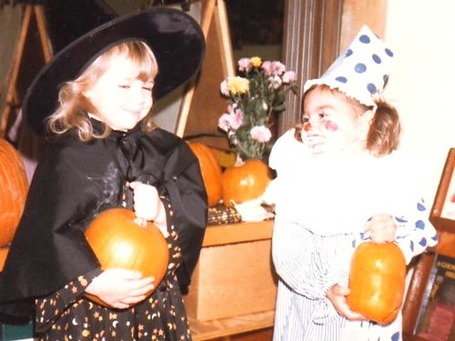 I think my mom made me wear this costume (which she made) twice. Cant blame her.