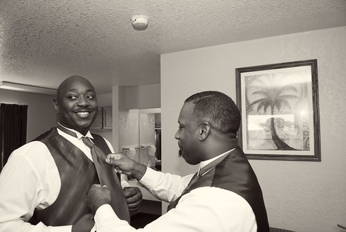Tracy & Johnny's Wedding Day