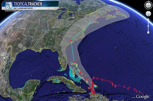 Tropical Storm Hanna: 5am