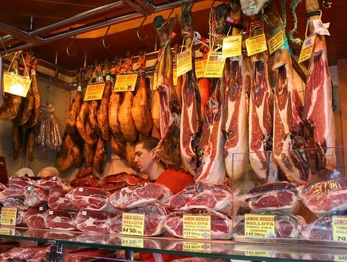 Jamon! Boqueria, Barcelona