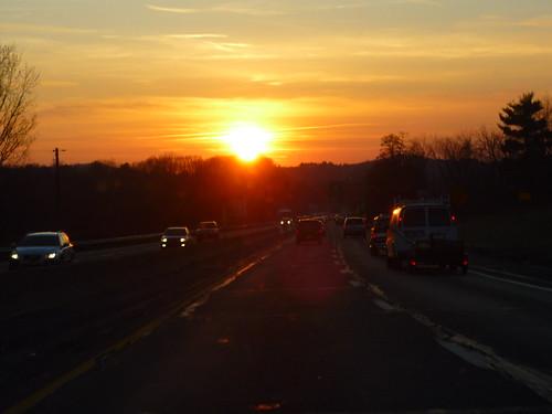 Sunset over Pennsylvania