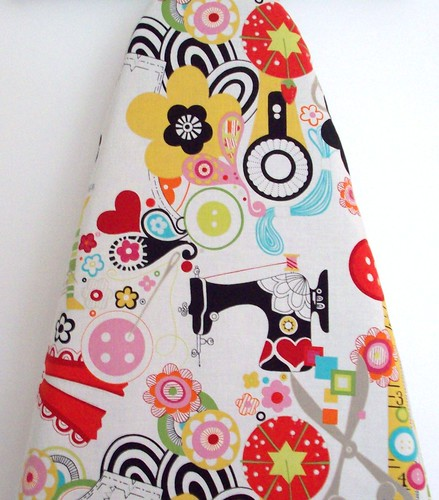 The Perfect Sewing Room Ironing Board Cover