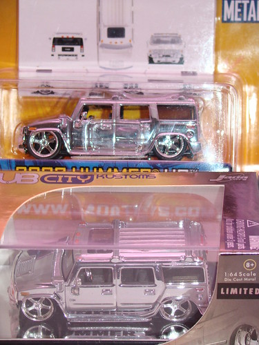 Jada Toys Limited Chrome series