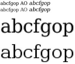 font-hinting