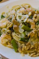 shrimp and asparagus