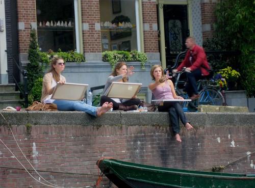 Pintando Amsterdam