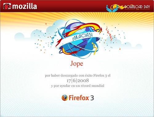 Certificado Fiefox 3