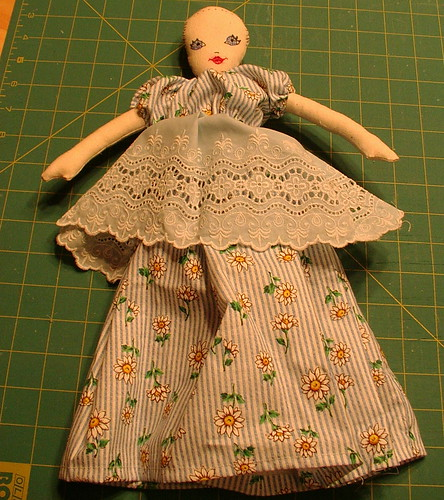 unfinished doll