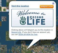 SLurl: Location-Based Linking in Second Life