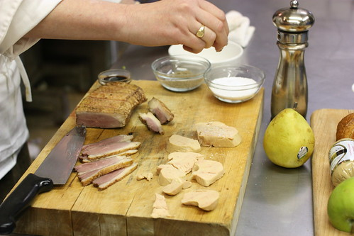 """The Making of the """"Foie You"""" by you."""