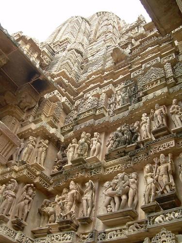 Estatuas de los templos eróticos de Khajurajo
