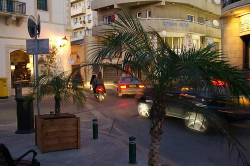 Un incrocio di Larnaca, Cipro