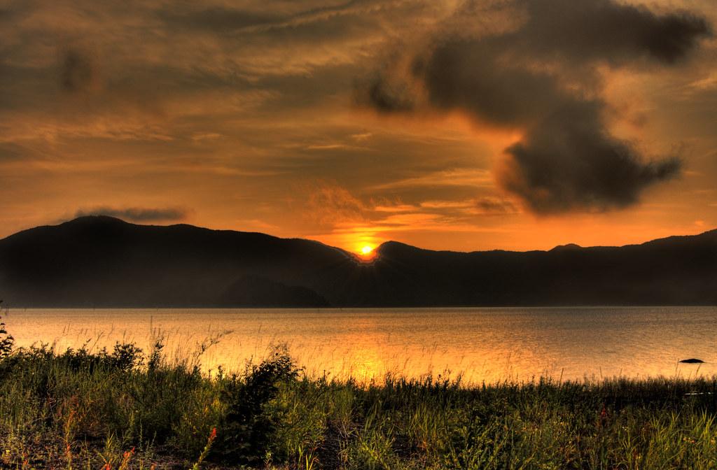 Lake Motosu Camping