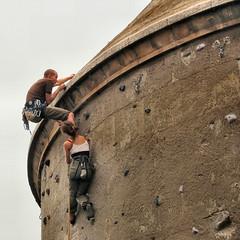 two freeclimbers