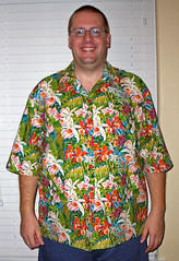 Flowers Hawaiian shirt