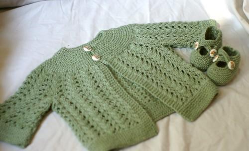 sweater bootie combo